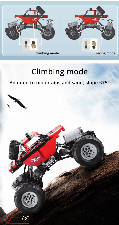 Lego Technic Grúa Todoterreno